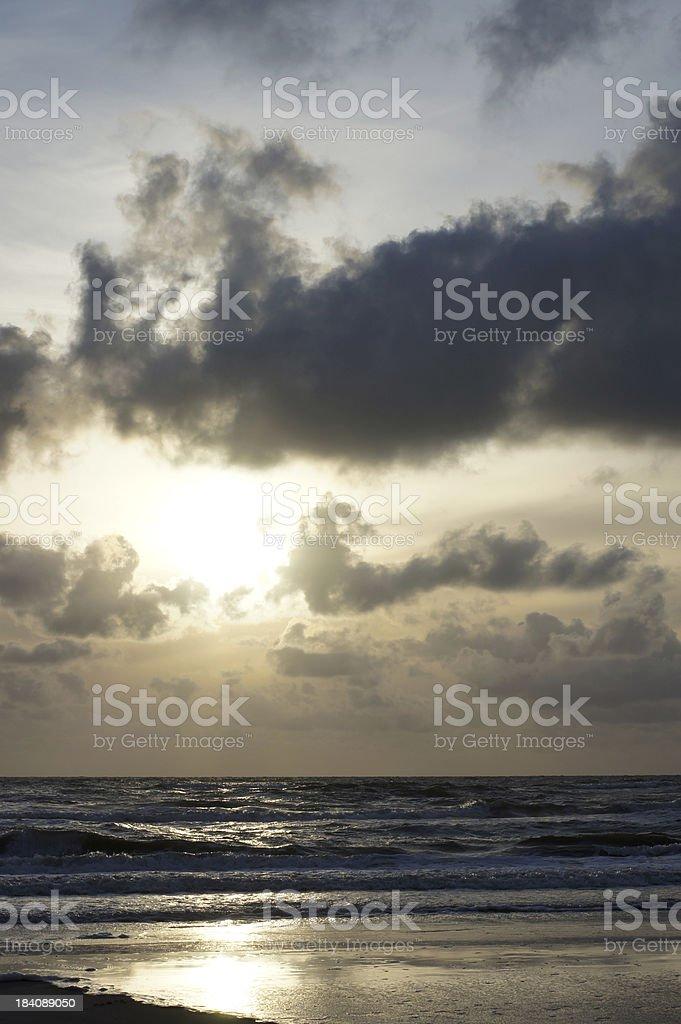 gorgeous sunset royalty-free stock photo