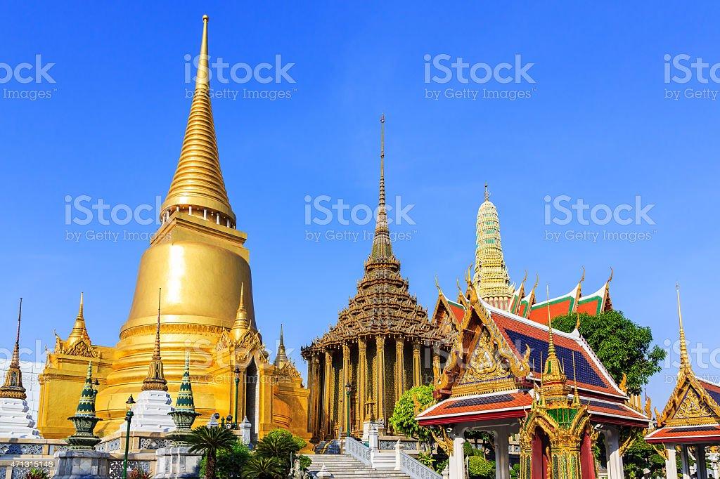 A gorgeous view of Bangkok, Thailand stock photo
