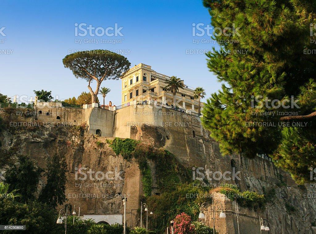 Gorgeous Villa on a Hill, Capri, Italy. stock photo