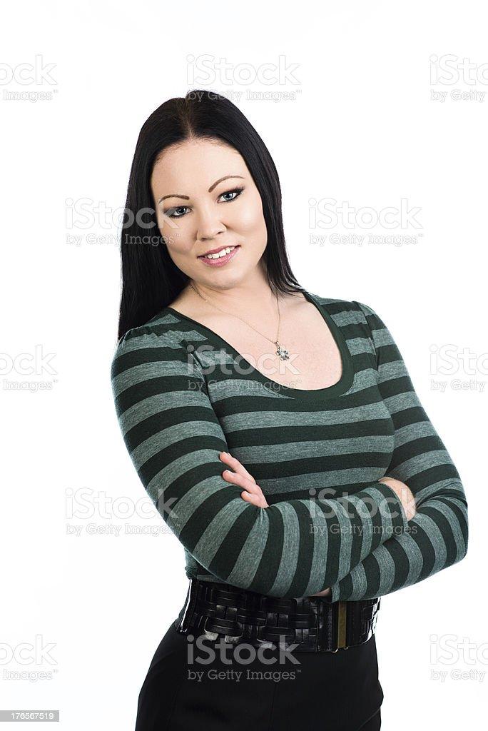 Gorgeous woman royalty-free stock photo