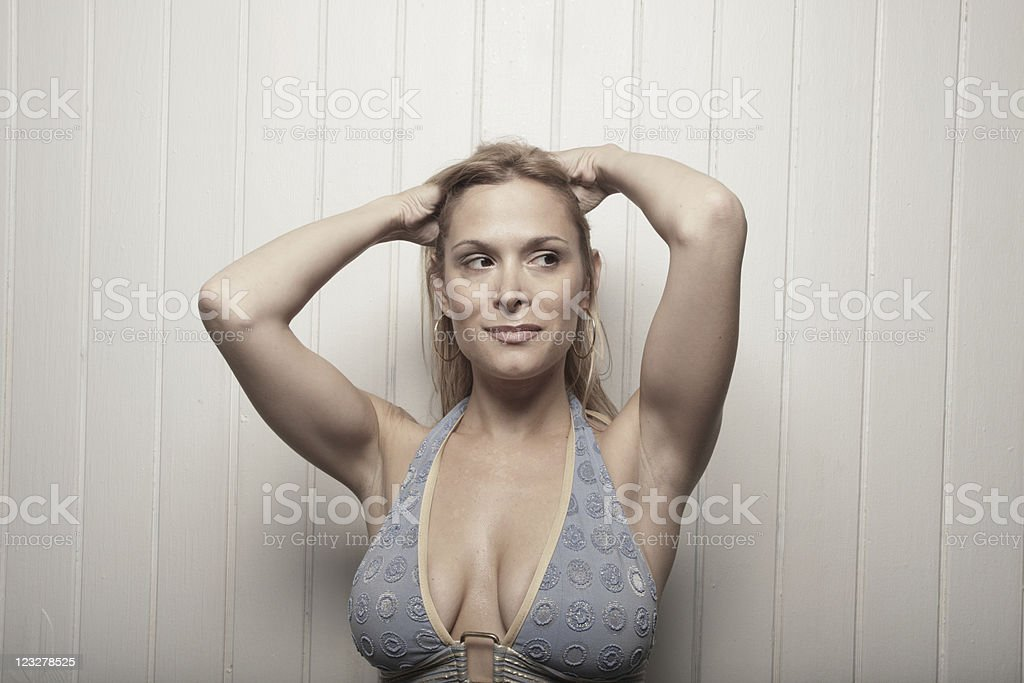 Gorgeous young female royalty-free stock photo