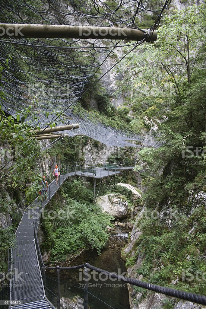 Gorges de la Fou. royalty-free stock photo