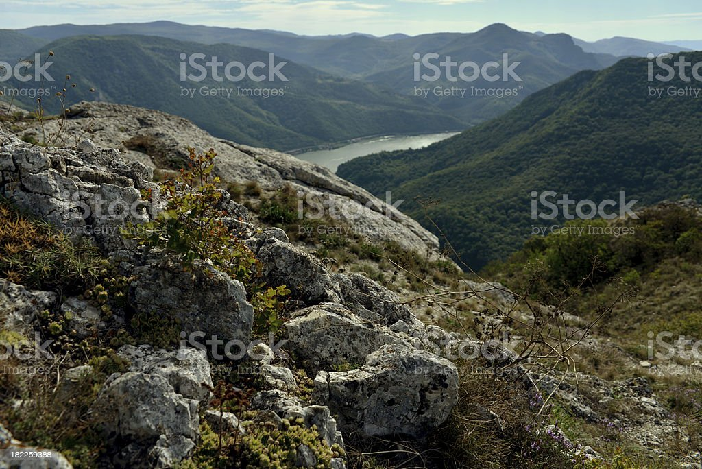 Gorges of the Danube royalty-free stock photo
