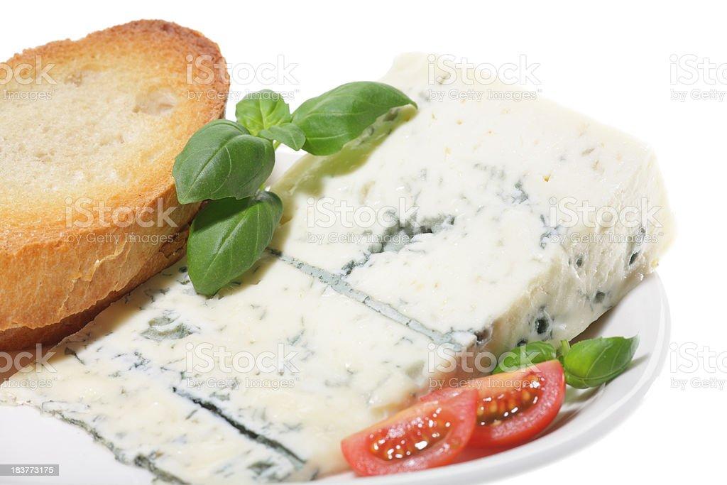 gorgonzola cheese royalty-free stock photo