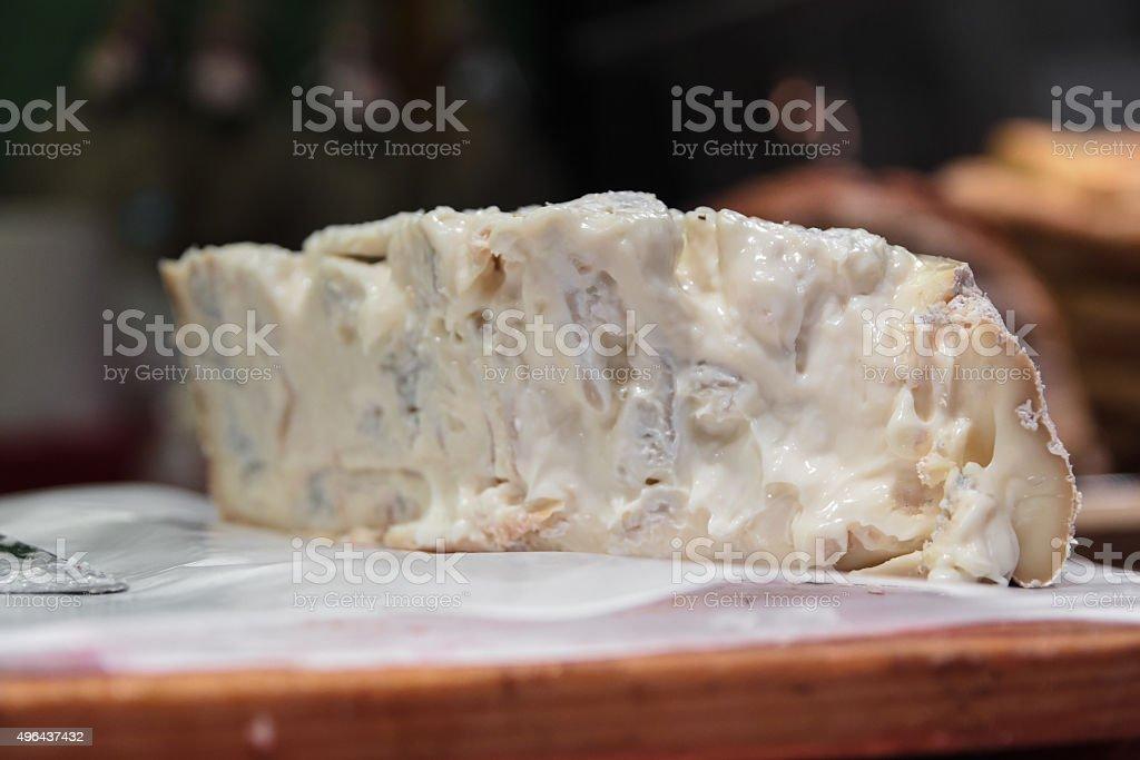 gorgonzola stock photo