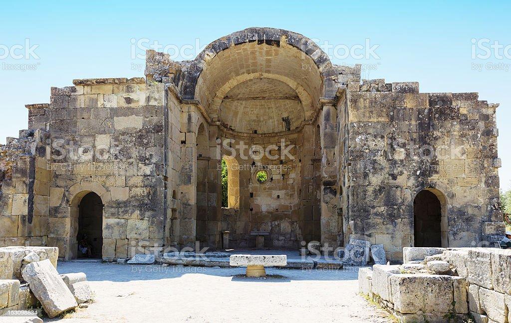 Gortyn, Crete stock photo