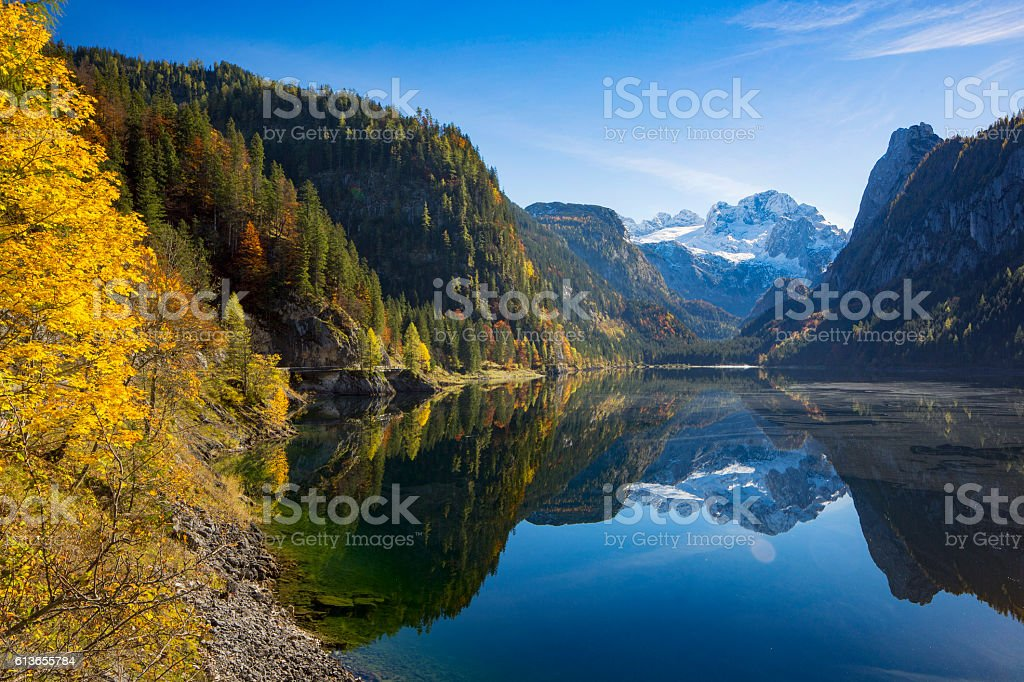 Gosausee  - Nature Reserve Austria stock photo