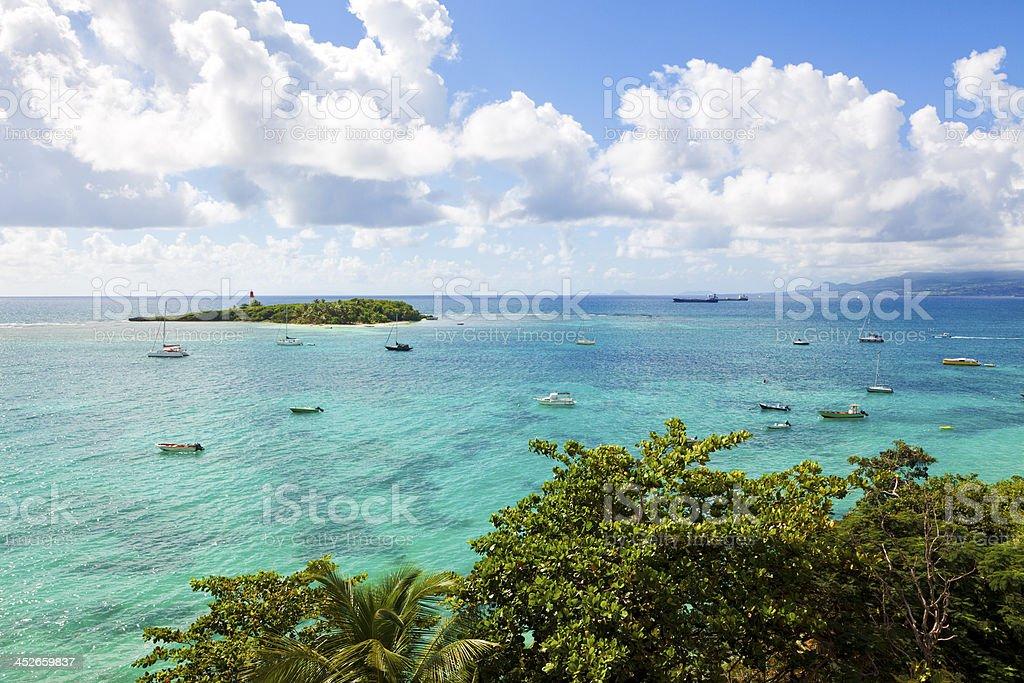 Gosier Island, Guadeloupe stock photo
