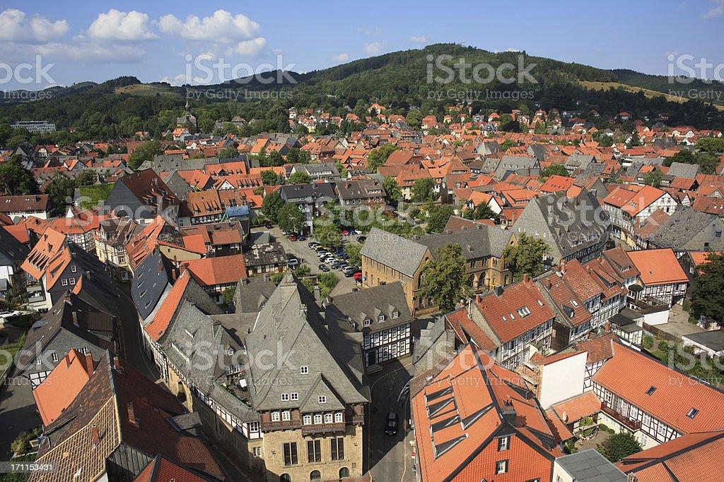 Goslar, Harz stock photo