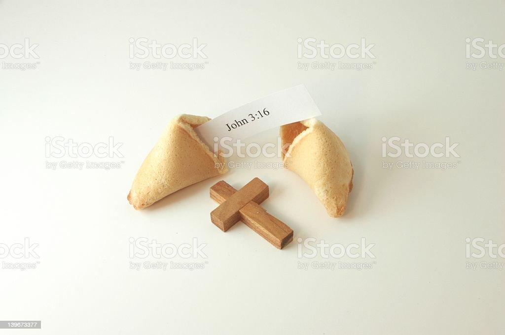 Gospel cookies? royalty-free stock photo