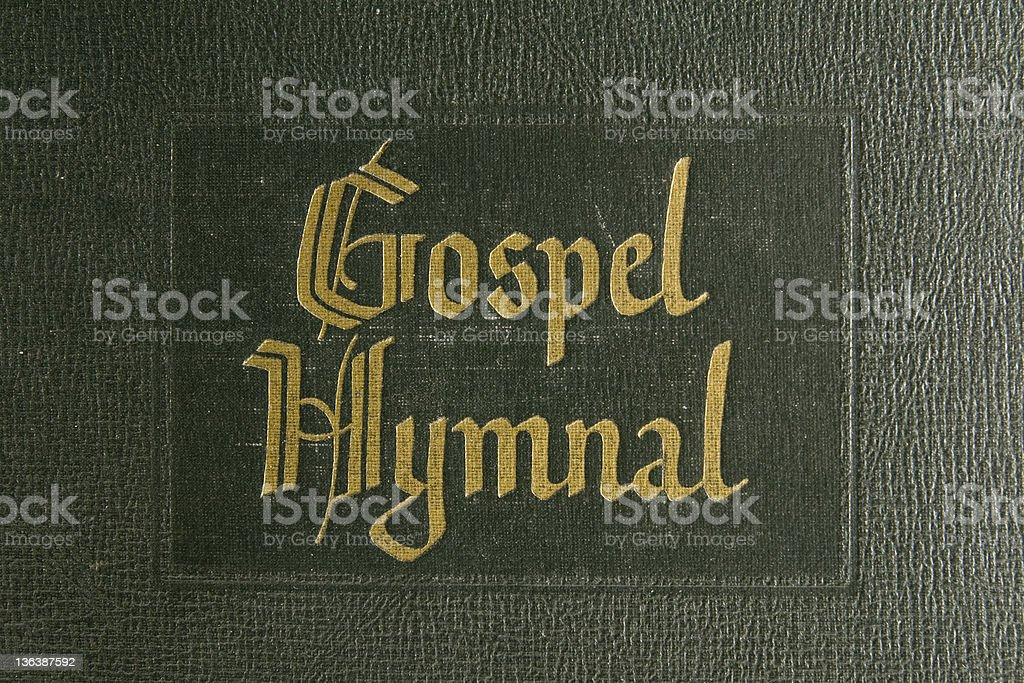 Gospel Hymnal royalty-free stock photo
