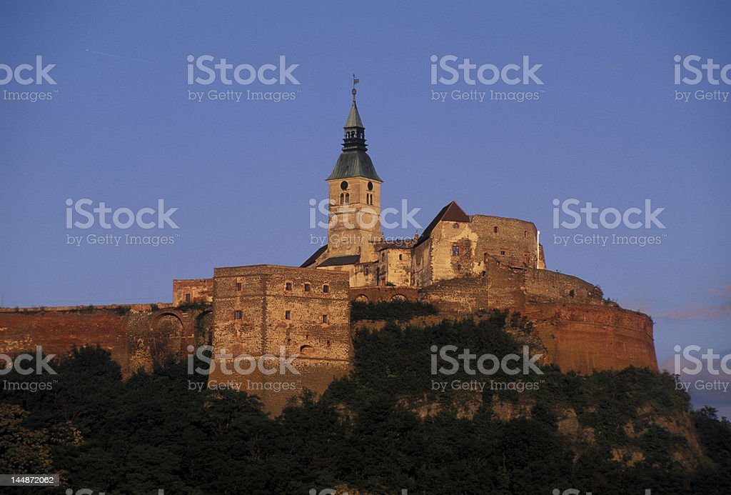 Gossing castle royalty-free stock photo