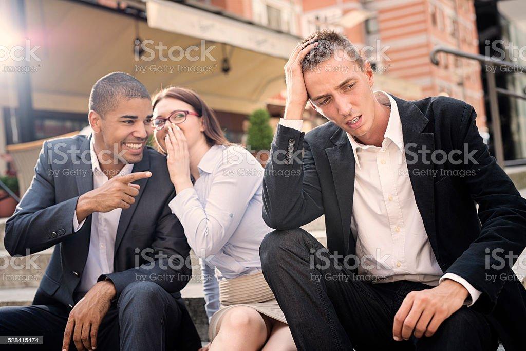 Gossip people. stock photo