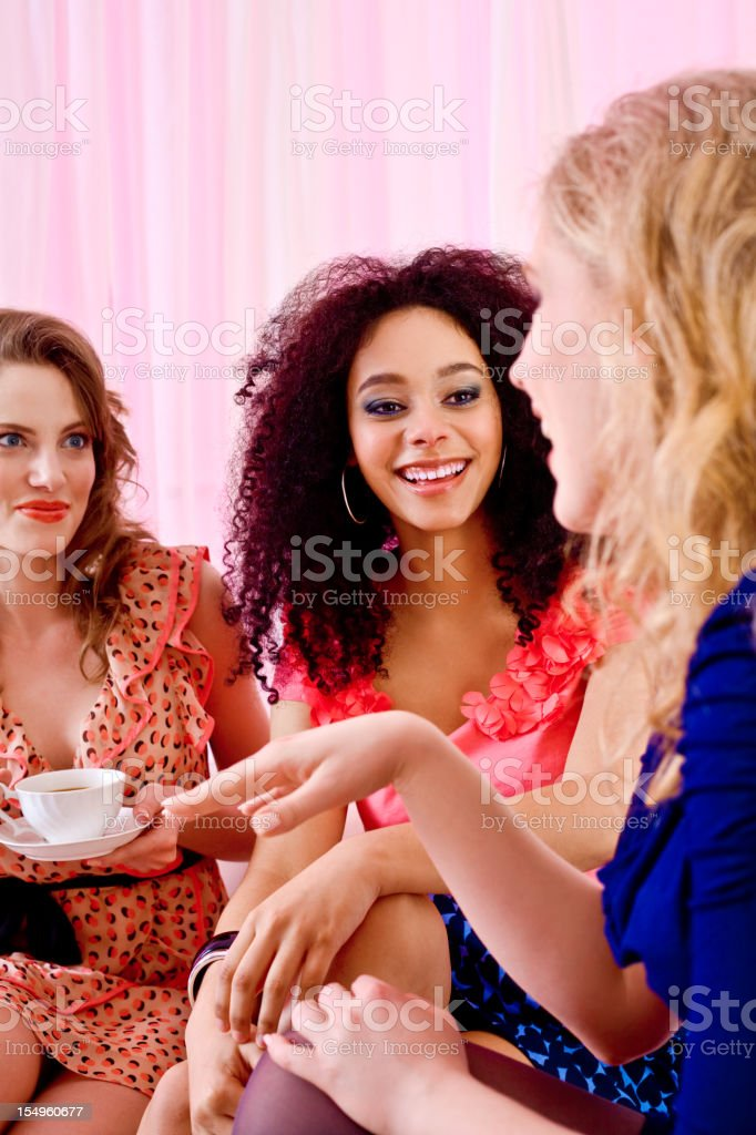 Gossip Time royalty-free stock photo