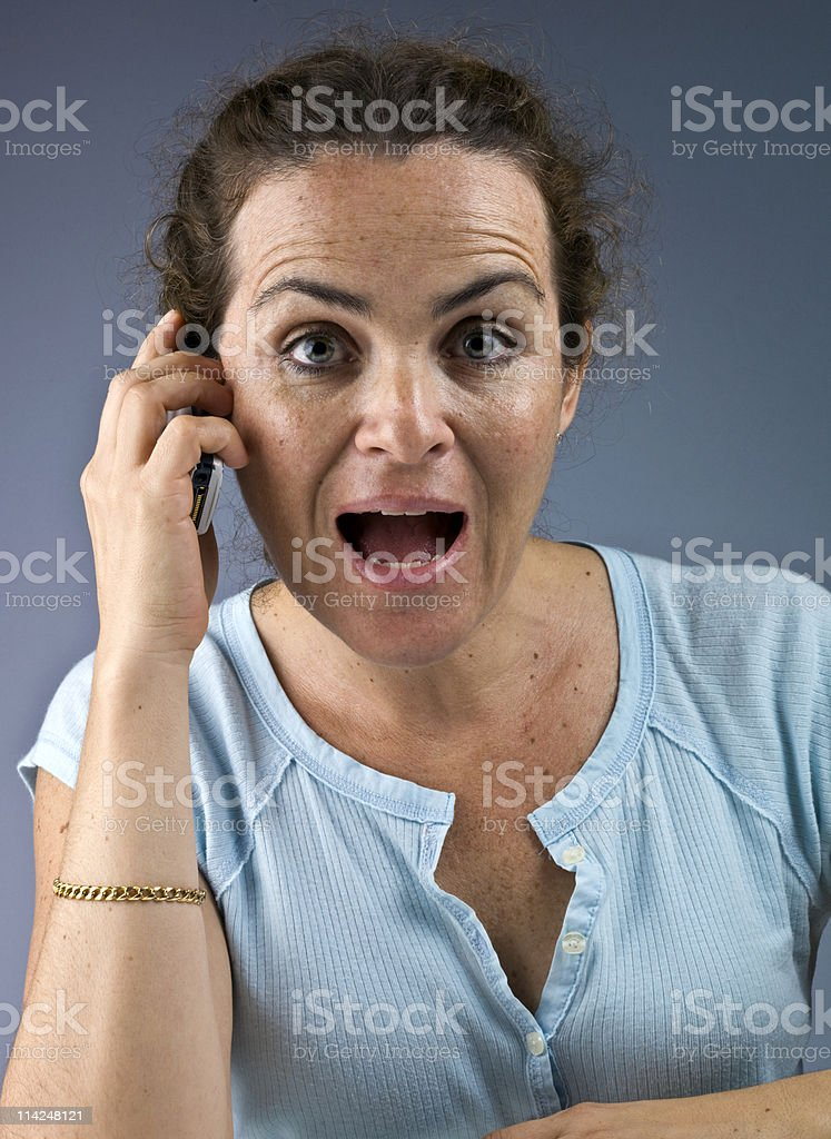 Gossiping royalty-free stock photo