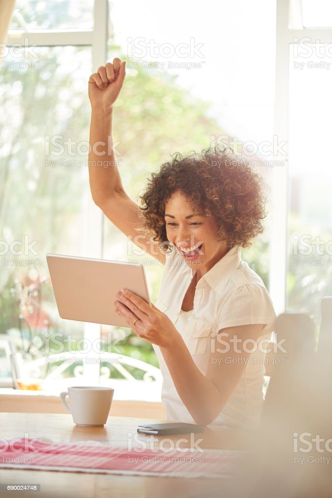 got a great deal stock photo