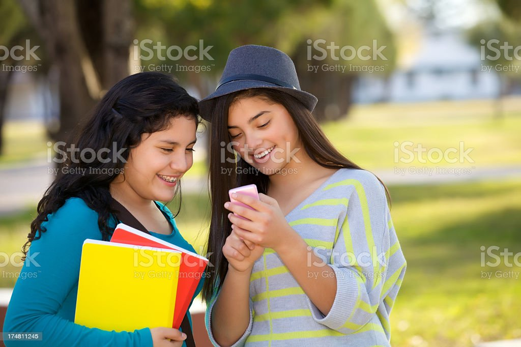 Got a text message royalty-free stock photo