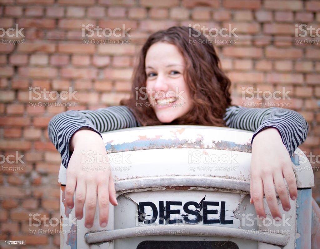 Got Diesel royalty-free stock photo