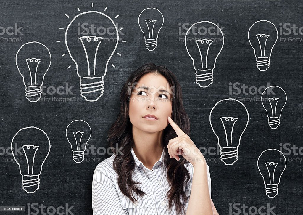 Got idea stock photo