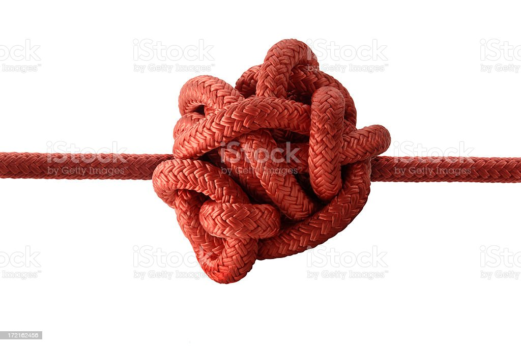 Got Knot? stock photo