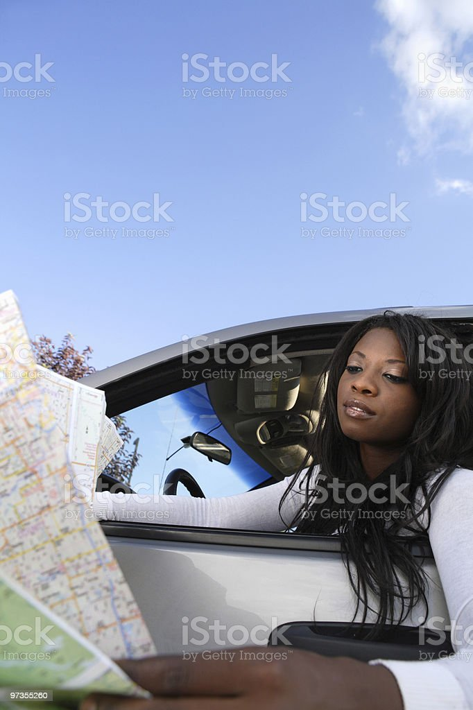 Got Lost royalty-free stock photo