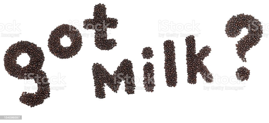 Got Milk? royalty-free stock photo