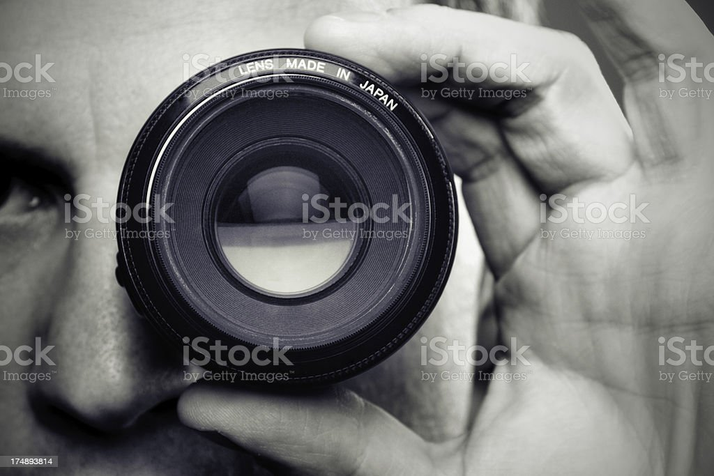 I Got My Eye On You! stock photo