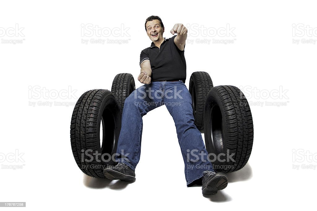 Got new tires? royalty-free stock photo
