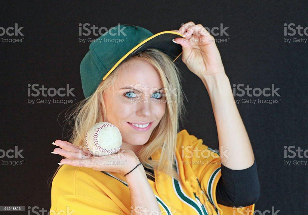 I Got The Ball stock photo