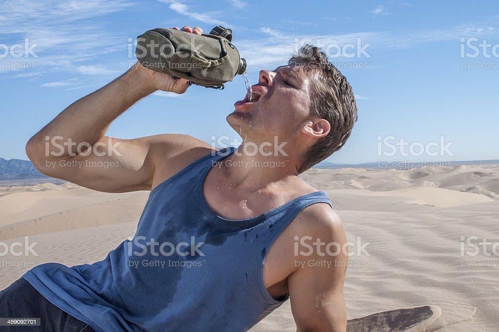 Got water stock photo
