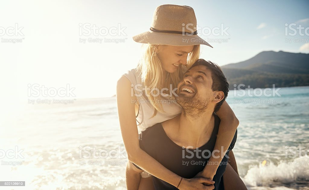 I got you babe stock photo