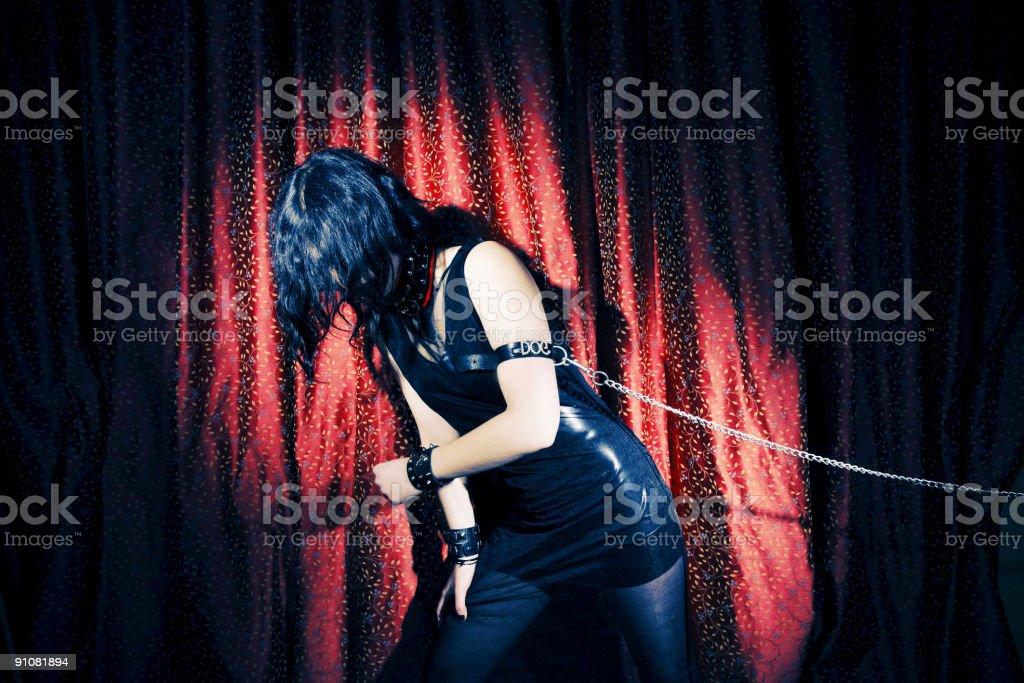 Goth royalty-free stock photo