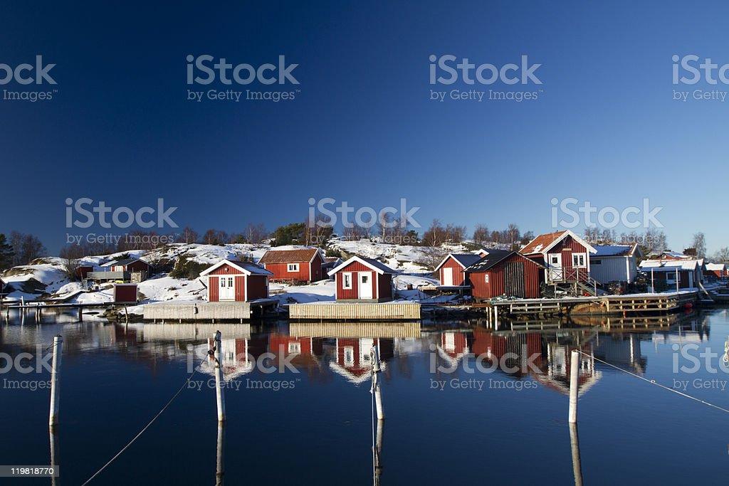 gothenburg archipelago stock photo