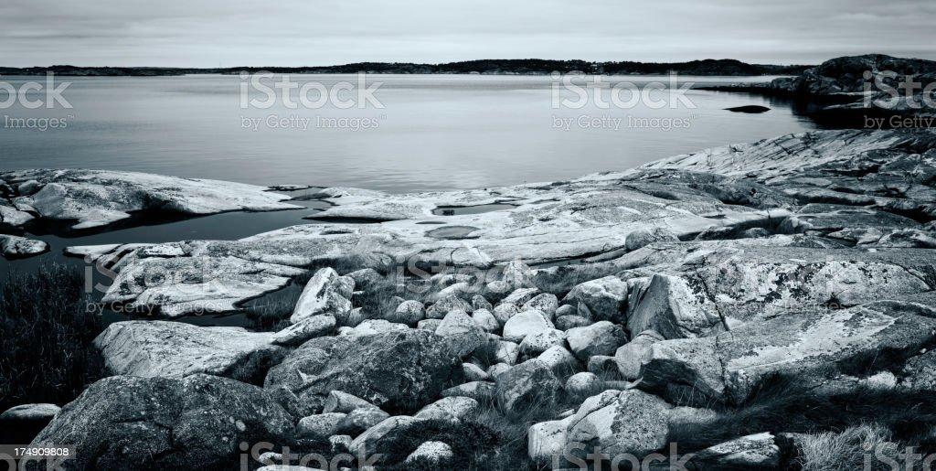 Gothenburg coastline royalty-free stock photo