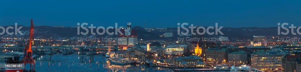 Gothenburg skyline royalty-free stock photo