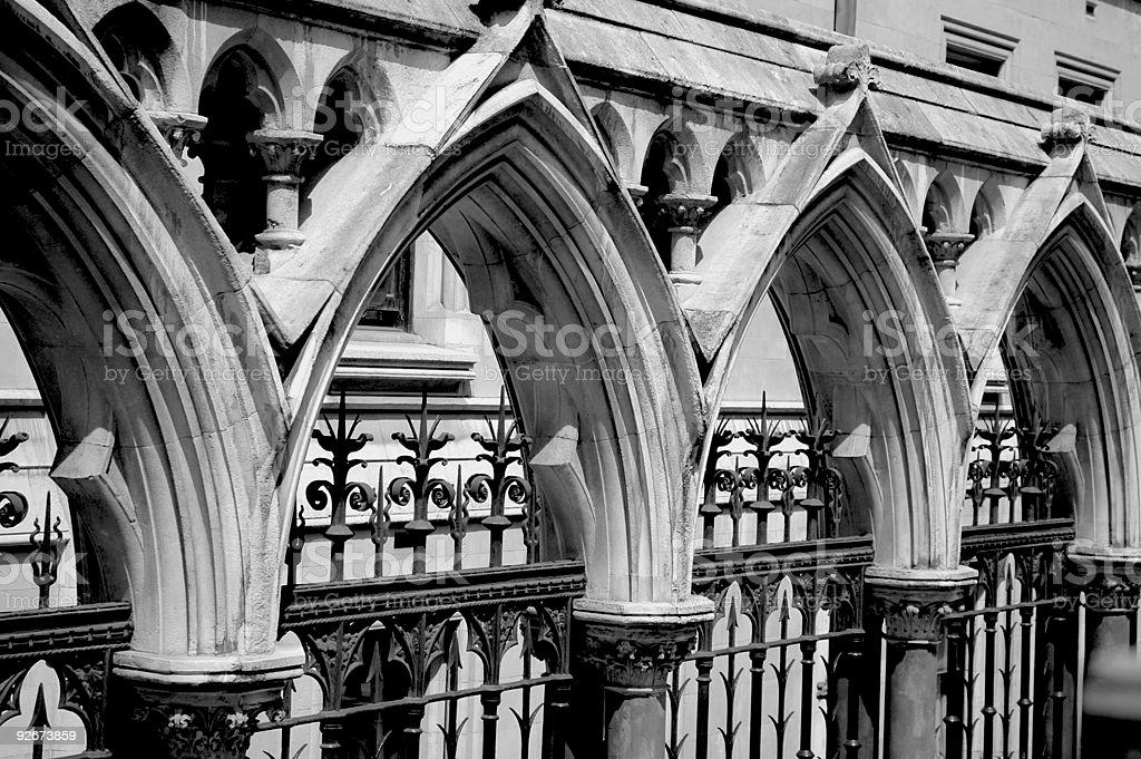 Gothic Arches stock photo