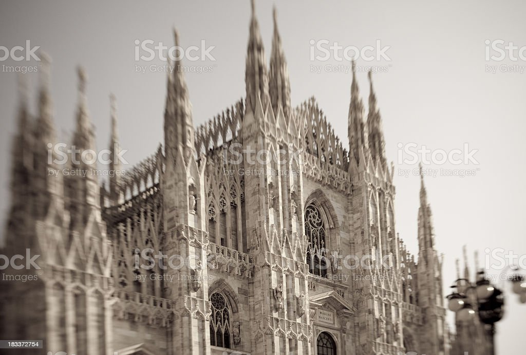 Gothic architecture royalty-free stock photo