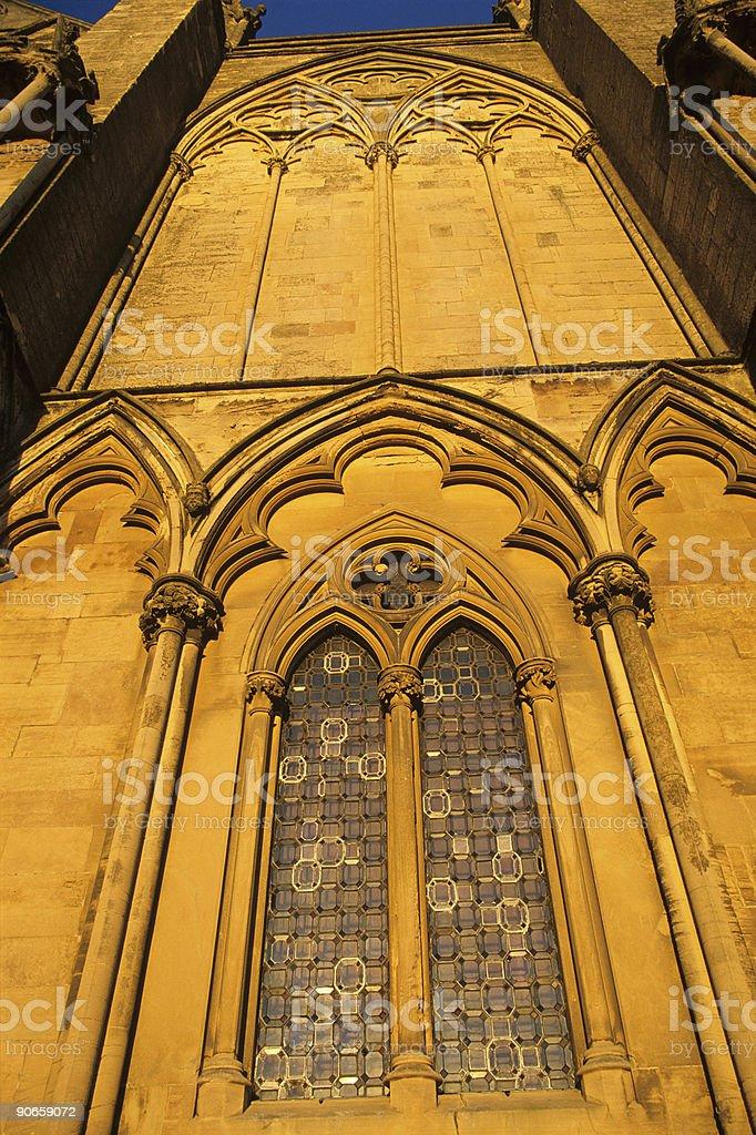 Gothic  Architecture. stock photo