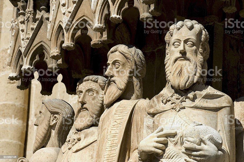 Gothic art royalty-free stock photo