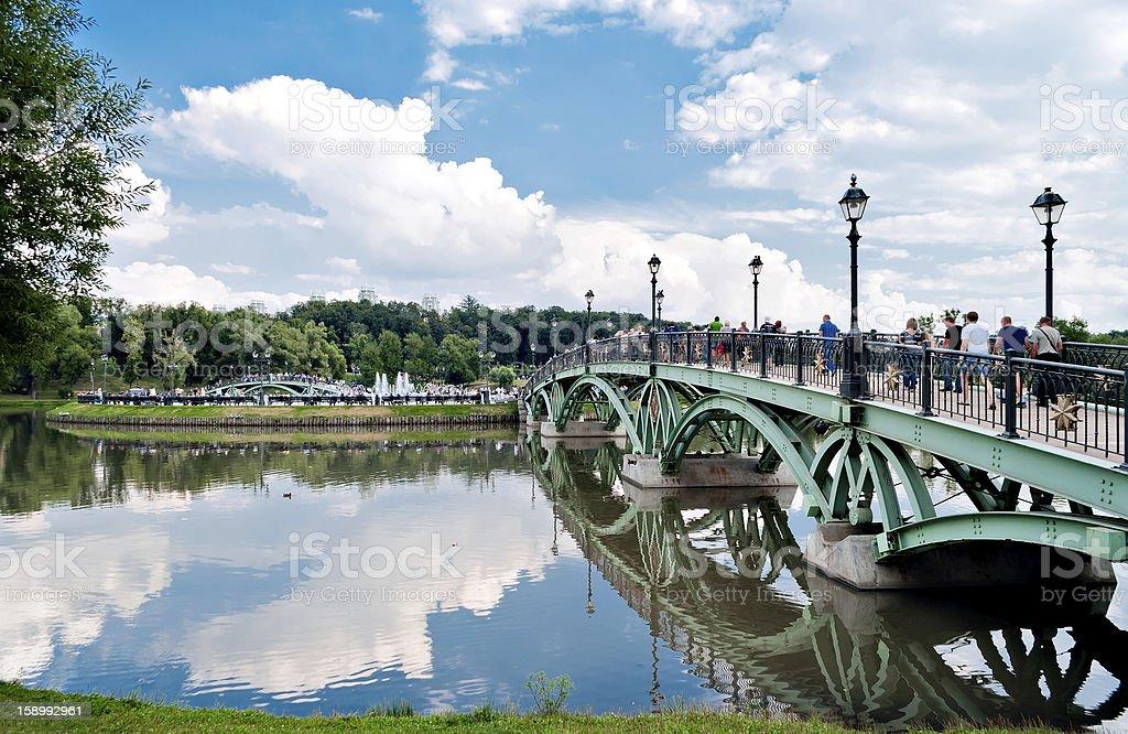 Gothic bridge royalty-free stock photo