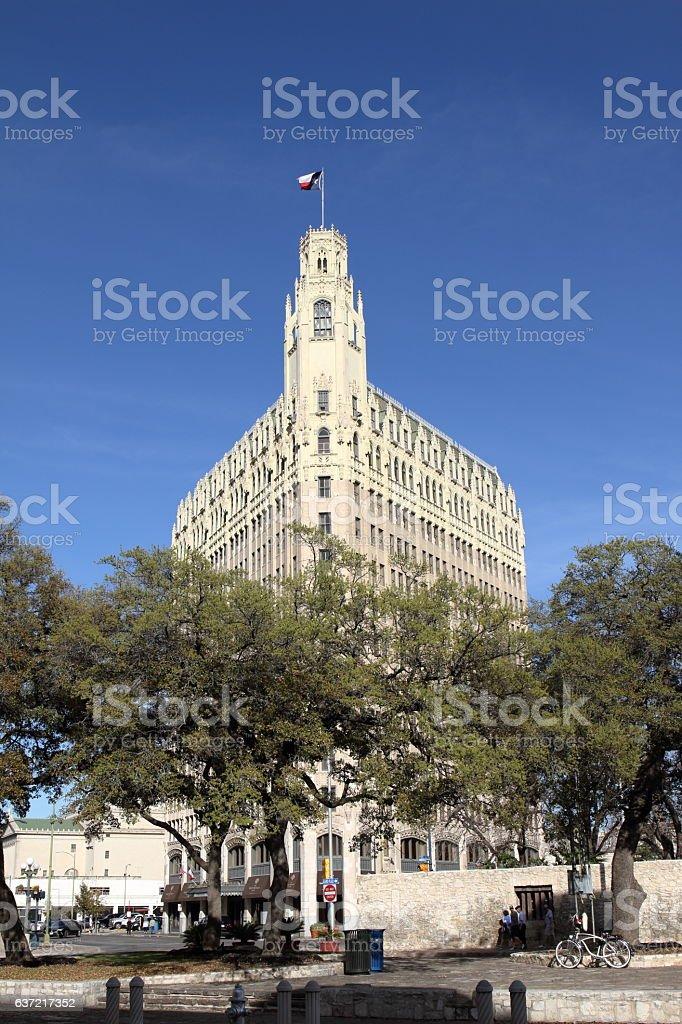 Gothic Building - San Antonio, TX - USA stock photo