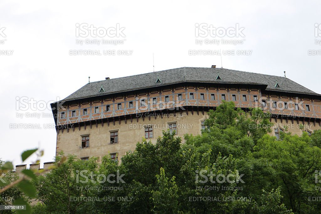 Gothic Castle Architecture stock photo