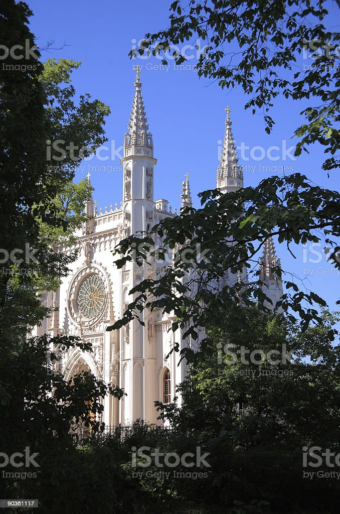 Gothic chapel royalty-free stock photo