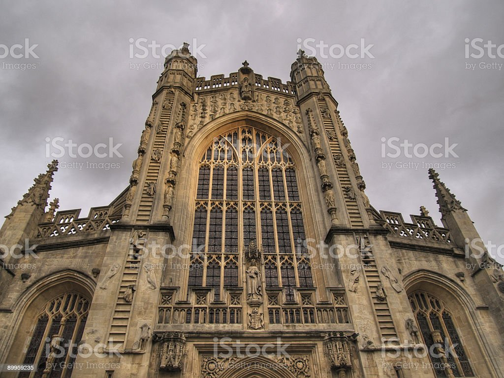 Gothic Church Detail royalty-free stock photo