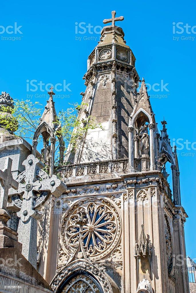 Gothic dome stock photo