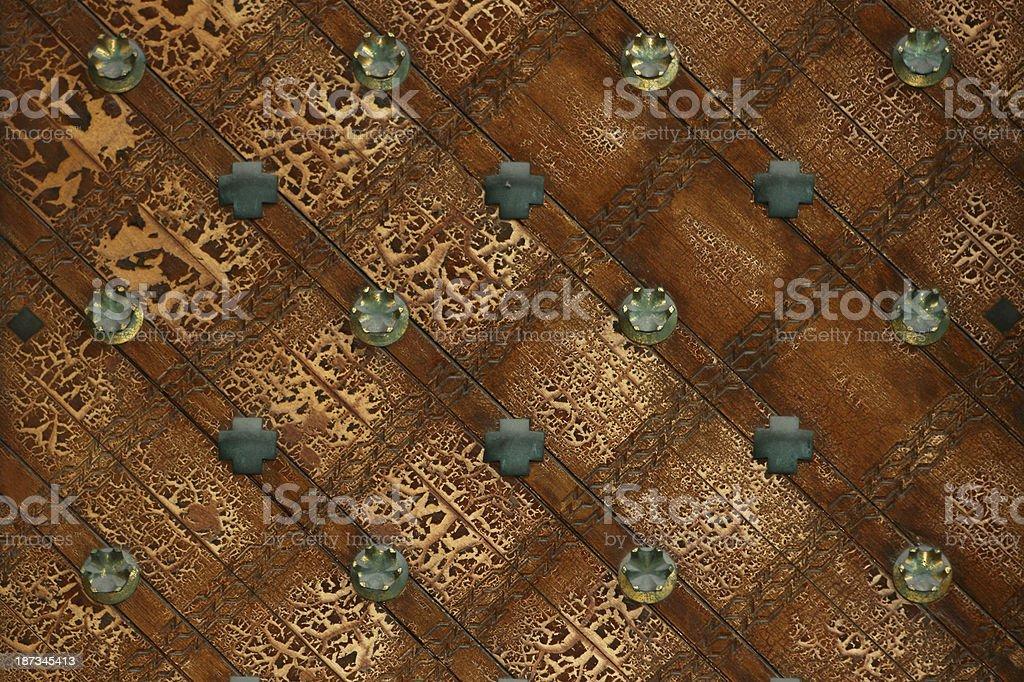 Gothic Door Pattern royalty-free stock photo