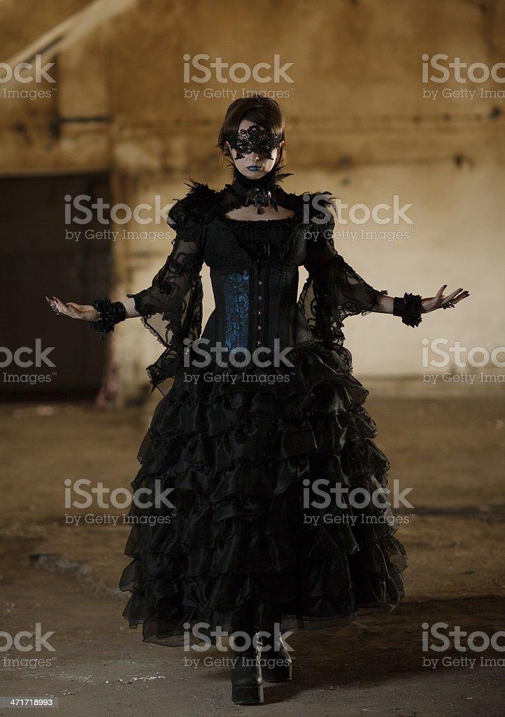 Gothic Fashion royalty-free stock photo
