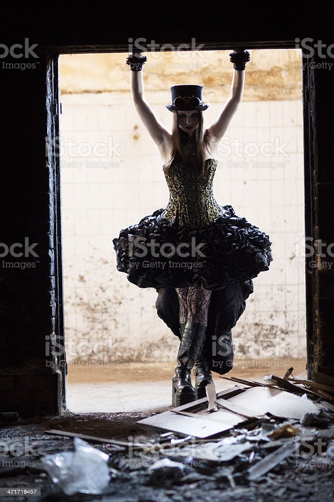 Gothic Fashion royalty-free stock photo