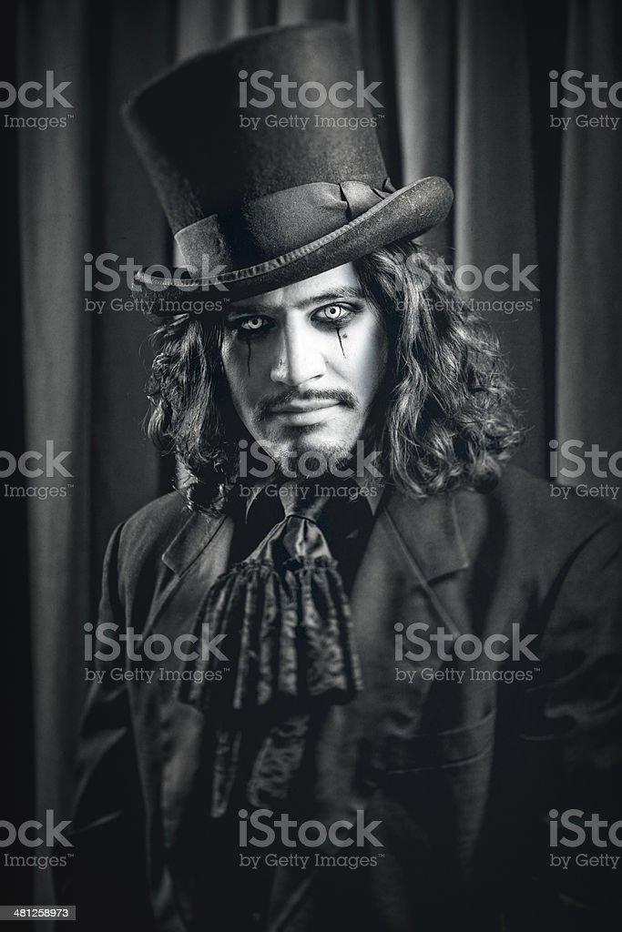 Gothic Man stock photo