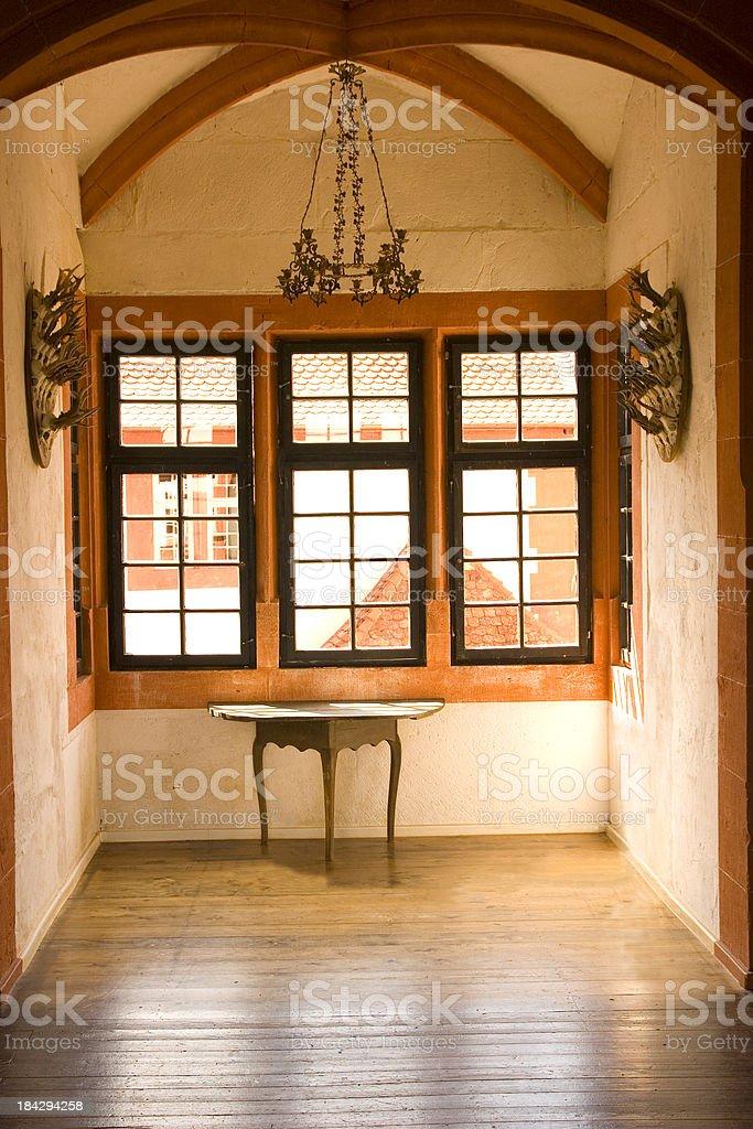 Gothic Oriel stock photo